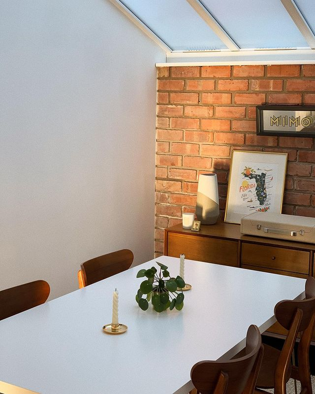 Dining room space