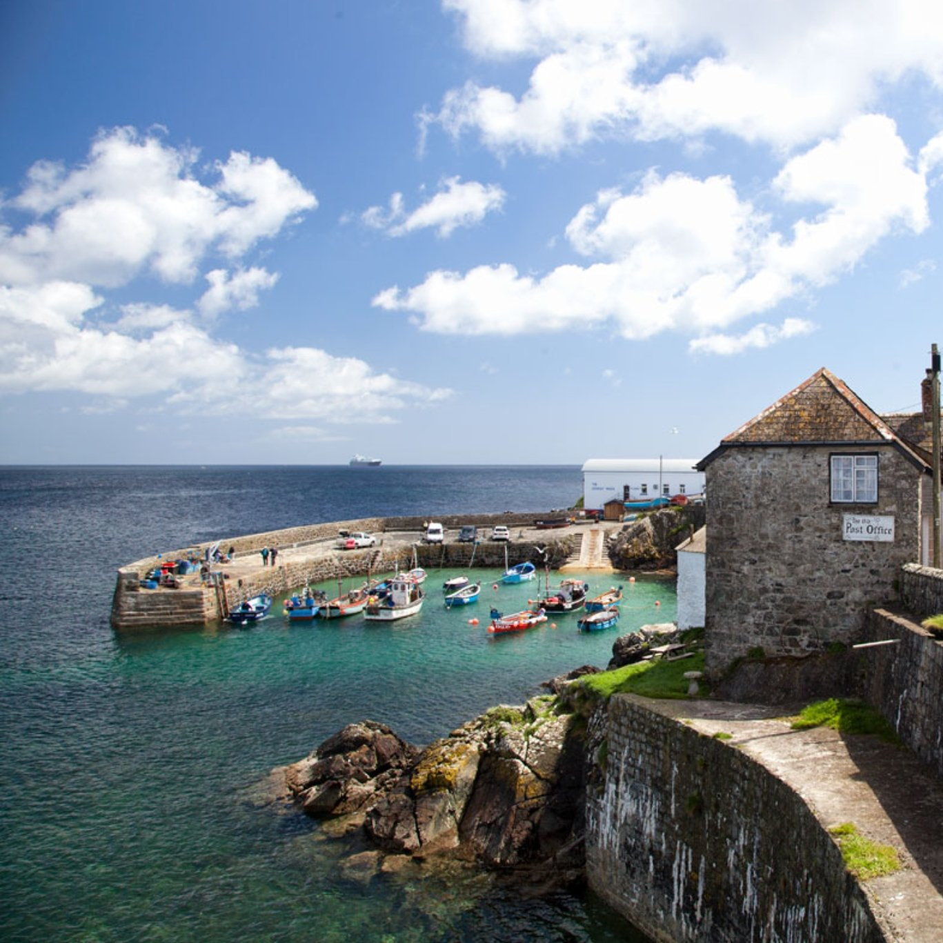 Picture of cornwall coastal area
