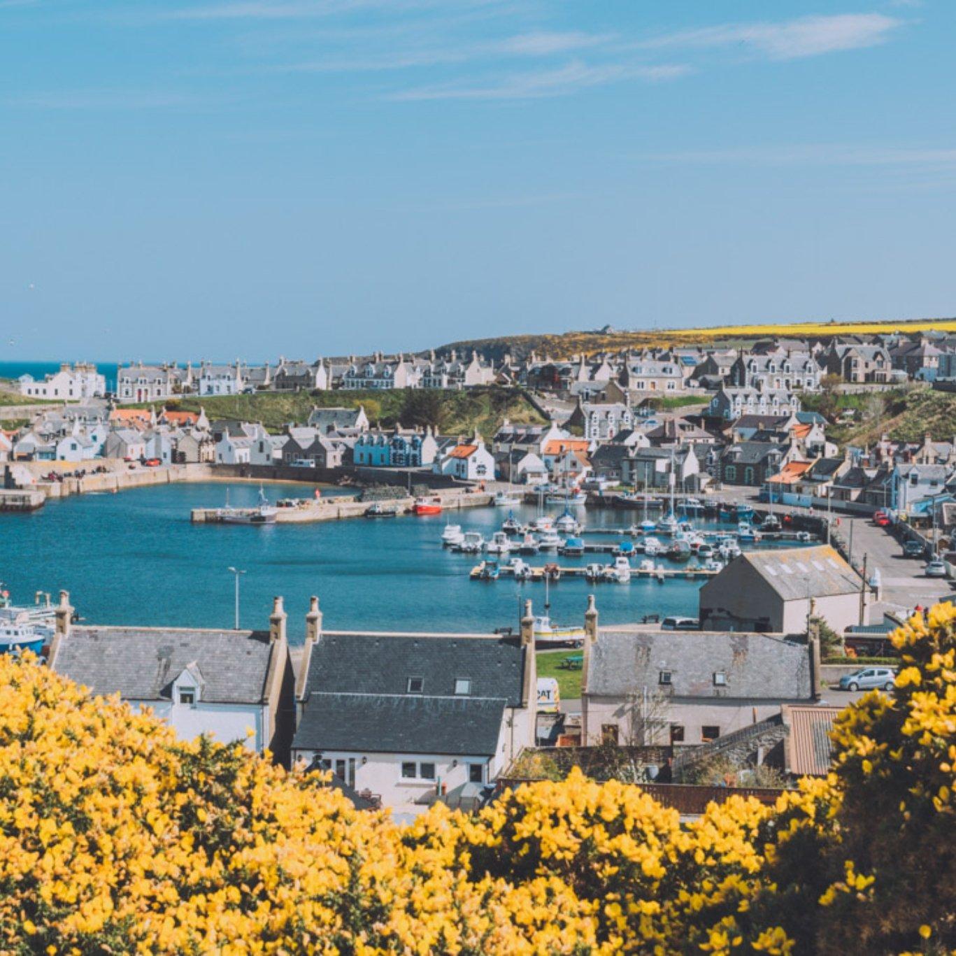 Picture of scotland coastal area