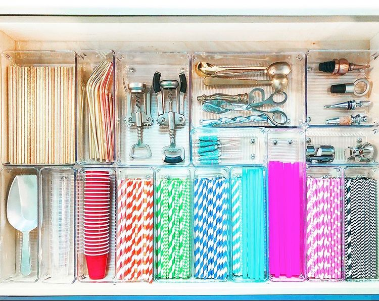 A organised kitchen drawer