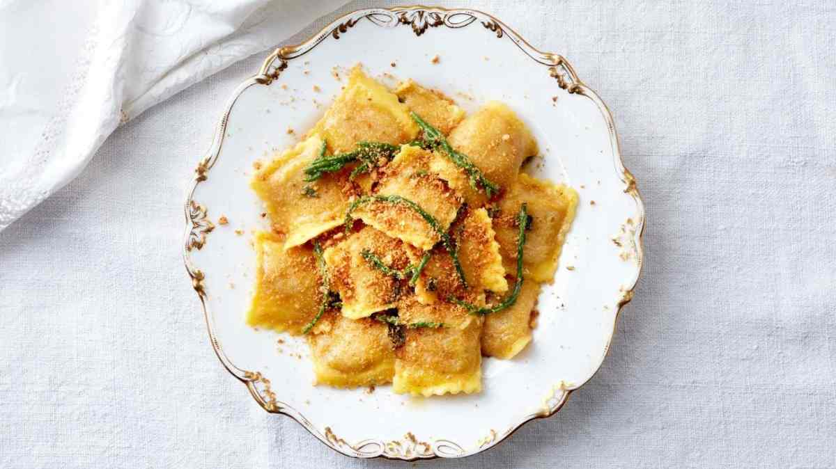 How to Make Crab And Lobster Ravioli From Pasta Evangelists