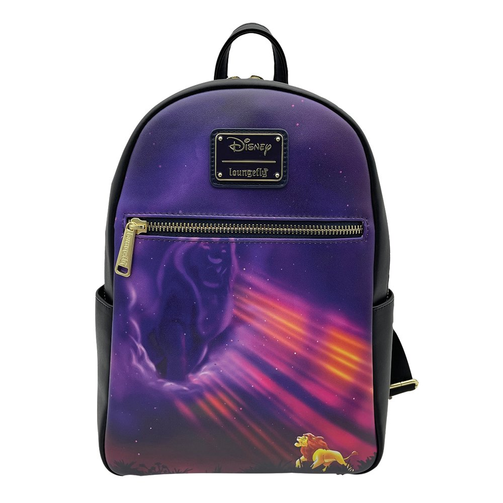The front of our Lion King Disney Moments Exclusive Loungefly Bag
