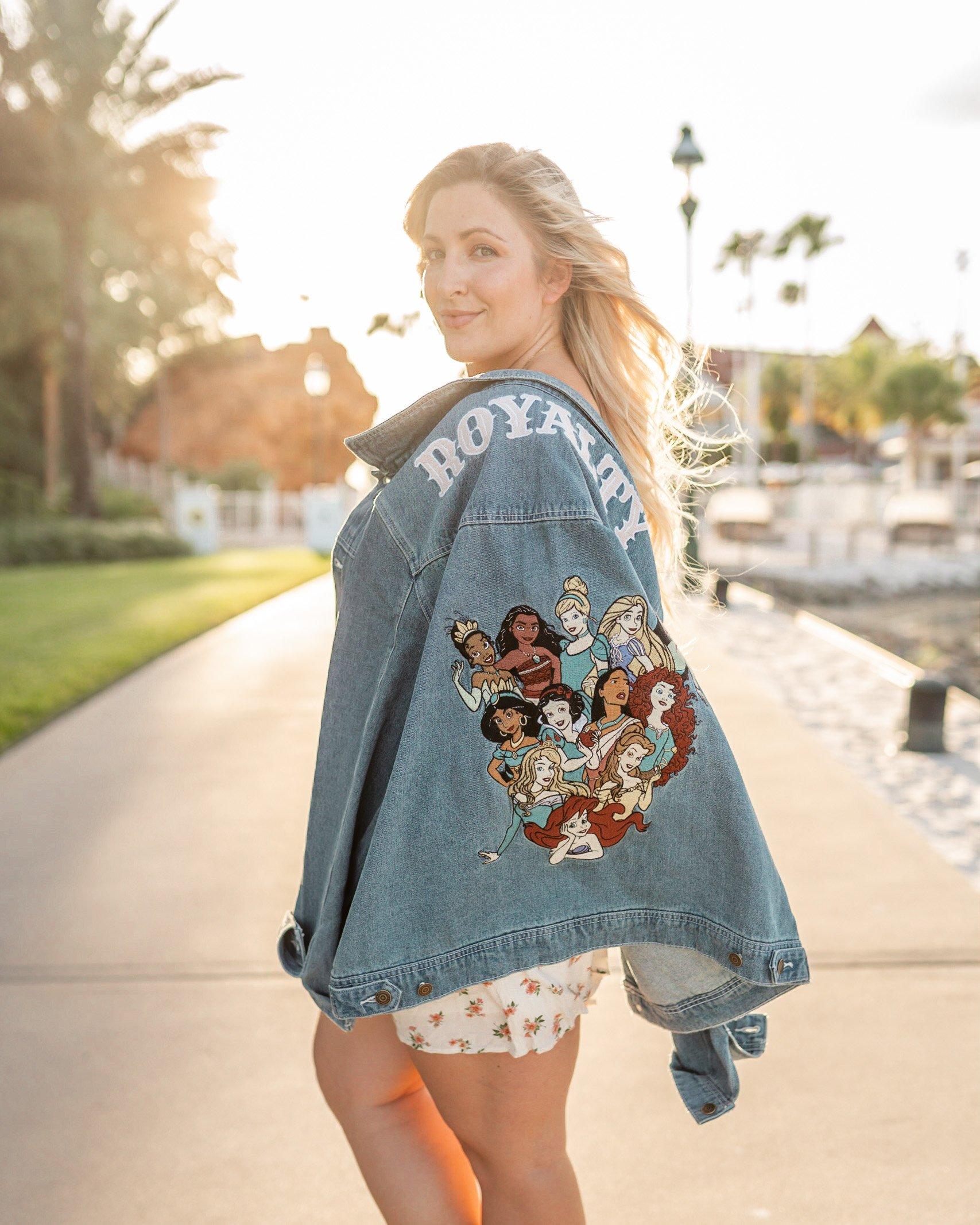 Cakeworthy Disney Princess Anniversary Denim Jacket