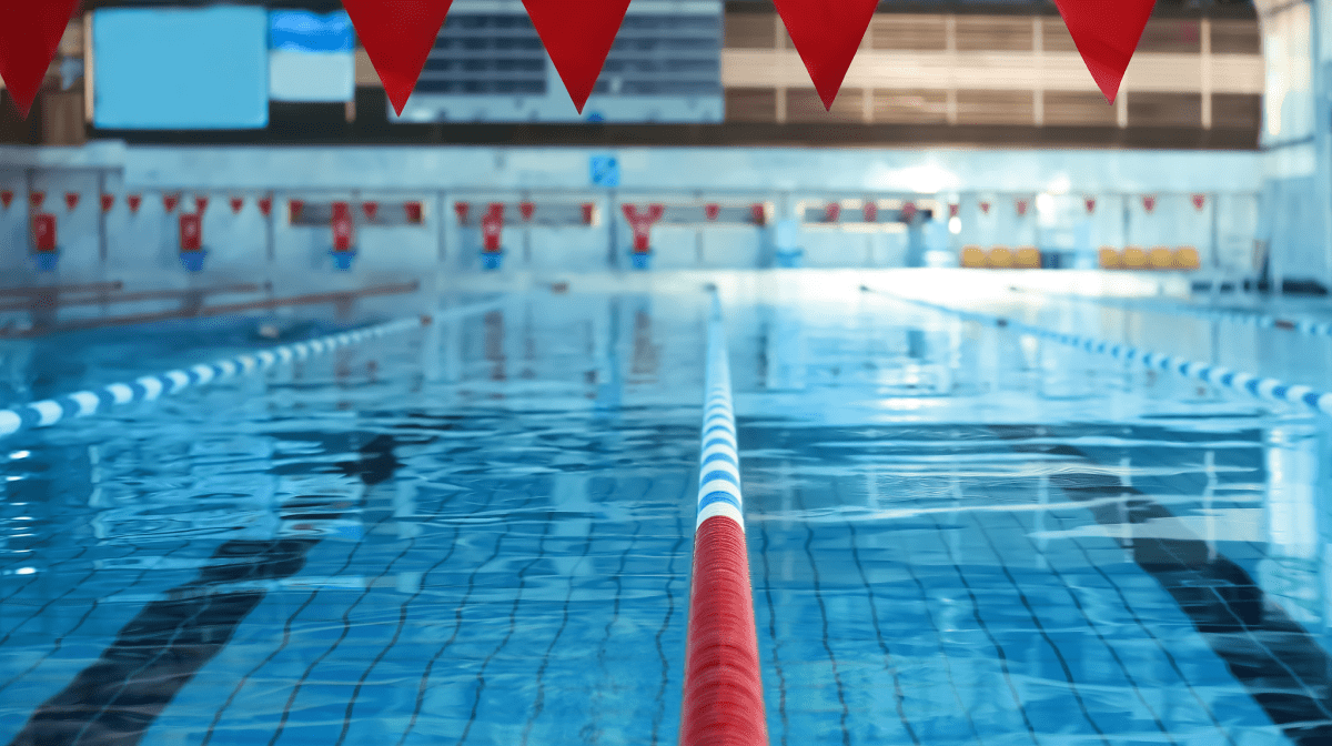 A swimming pool