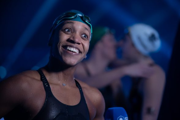 Swim Advice from Breaststroke Star Alia Atkinson