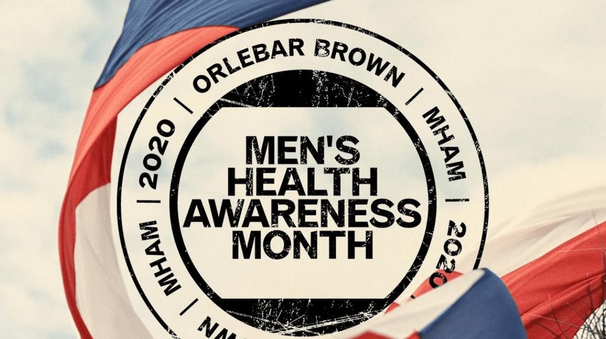 2020 ORLEBAR BROWN MHAM MEN'S HEALTH AWARENESS MONTH
