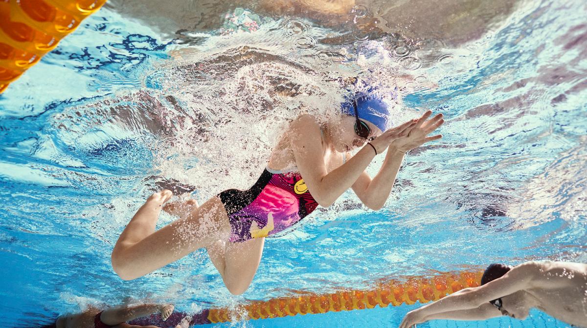 Beinschlag Beim Brustschwimmen Mit Jessica Hardy
