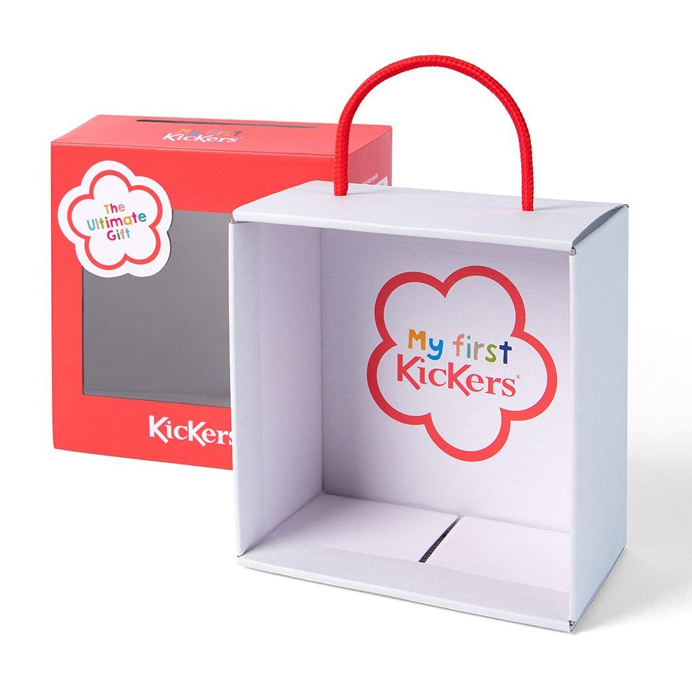 kickers baby box shoes
