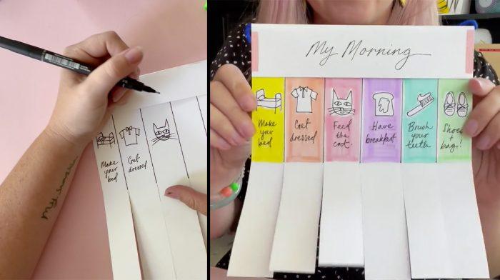 Ladyland Art Club's Back to School Morning Checklist