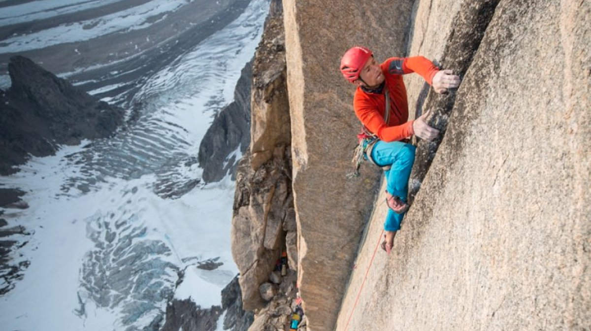 Leo Houlding's First Reflections of the Mirror Wall