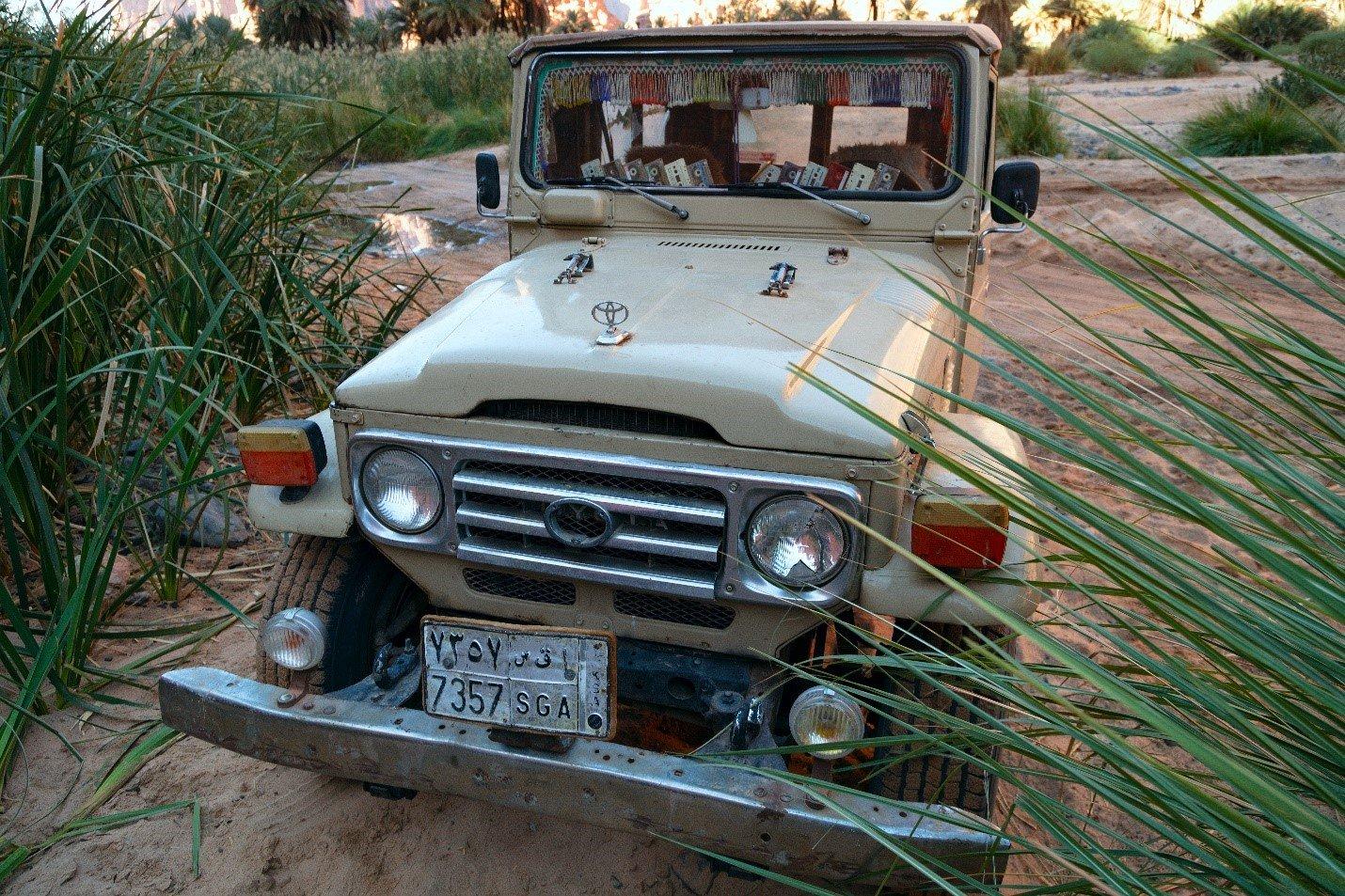 Beduin landcruiser
