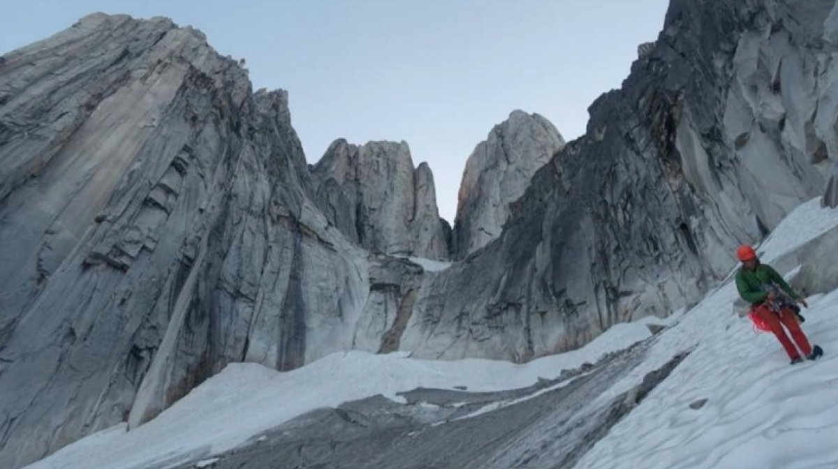 All Along the Watchtower Headwall: One of North America's Finest Climbs