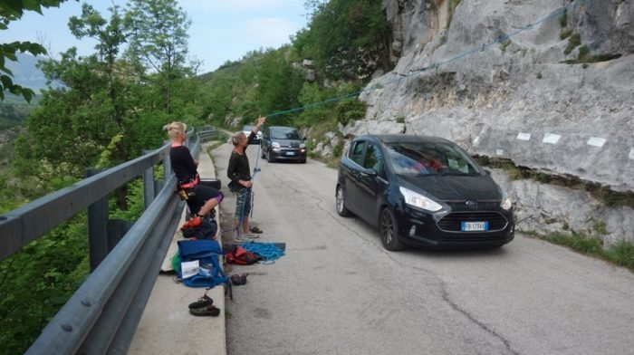 Step 6: Sport Climbing in Abruzzo – Mick Fowler – From Cancer to the Himalaya