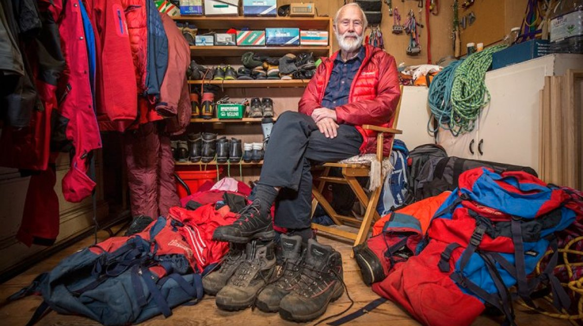 The Gear Loft Series – Sir Chris Bonington