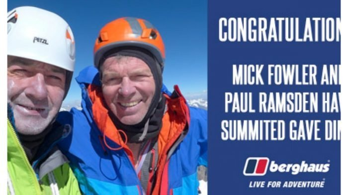 Mick Fowler and Paul Ramsden Complete First Ascent of Gave Ding in Nepal