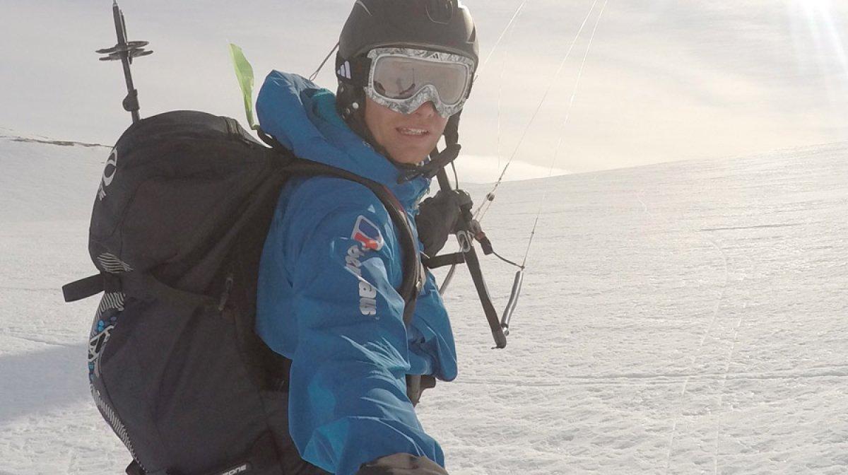 Profile: Leo Houlding – Greenland Snowkite