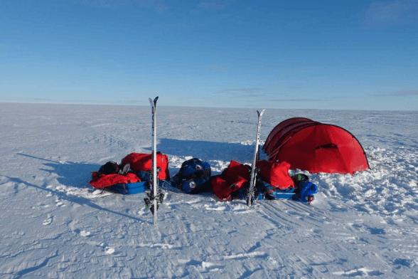 Greenland Snowkite: Day 1