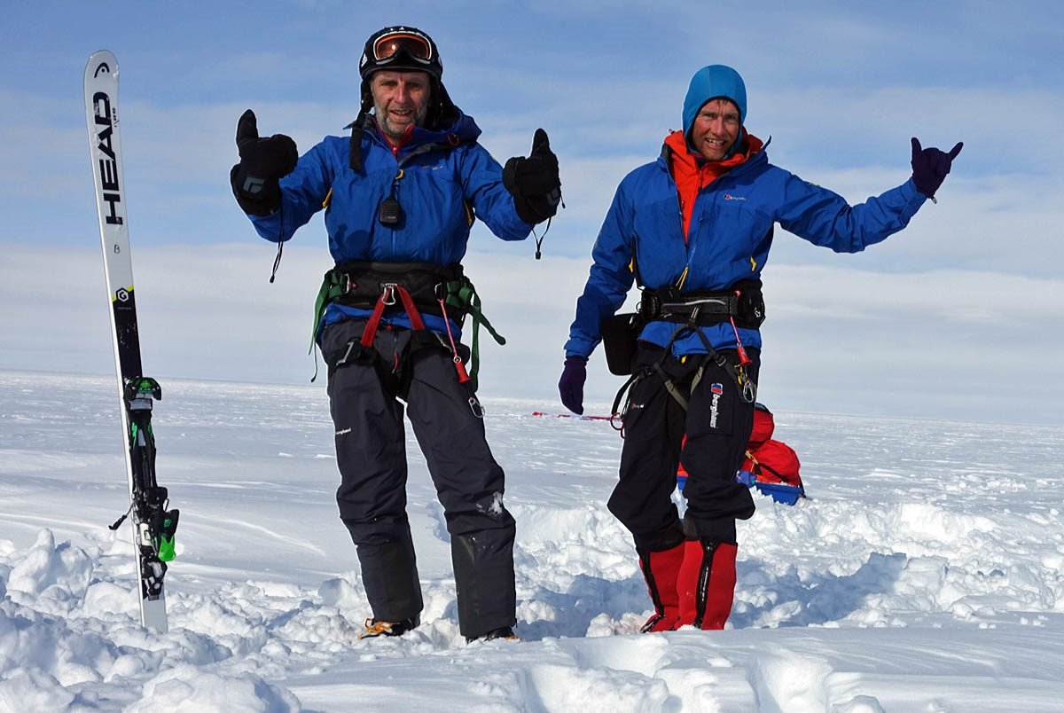 Greenland Snowkite: Day 19 – We've finished!!