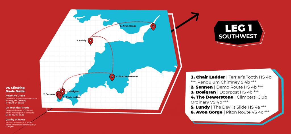 Anna's classic Rock map