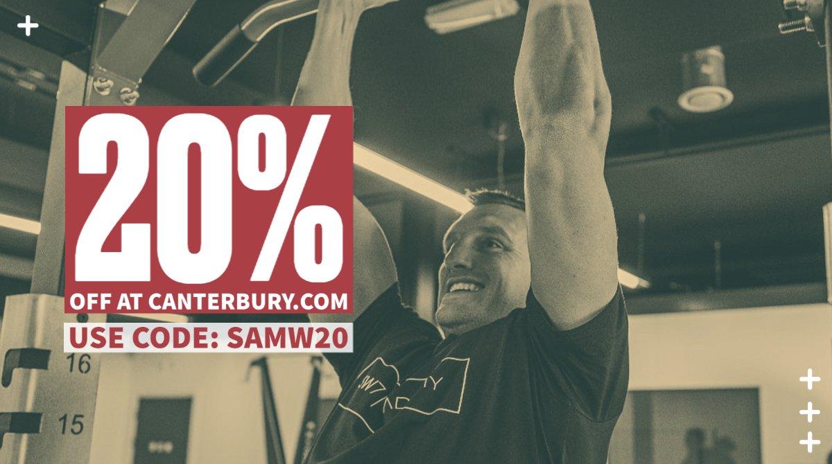 Sam Warburton Canterbury banner image