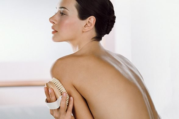 Top tips for dry body brushing