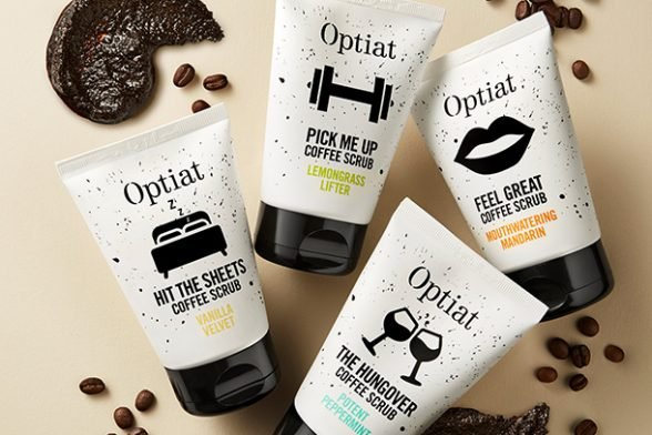 Wake up your face with a quick caffeine fix