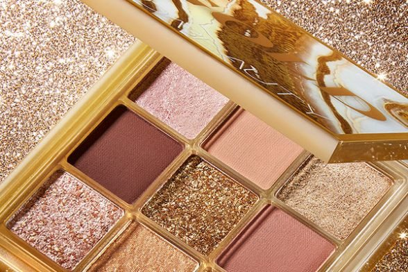 Introducing Cult Beauty's *exclusive* Huda Beauty Gold Obsessions Palette