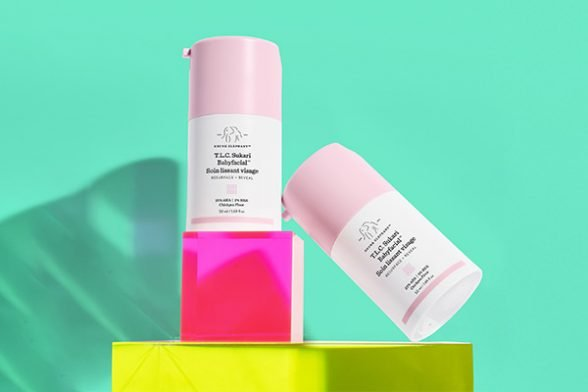 Drunk Elephant's T.L.C. Sukari Babyfacial is now available in a midi size