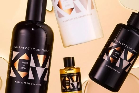 Charlotte Mensah's secret to healthy hair