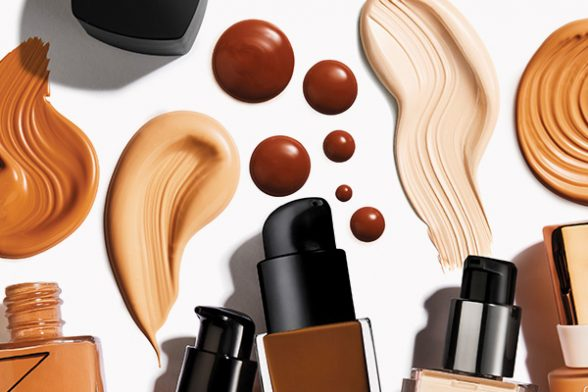 What's my shade? Colour match your foundation with MatchMe