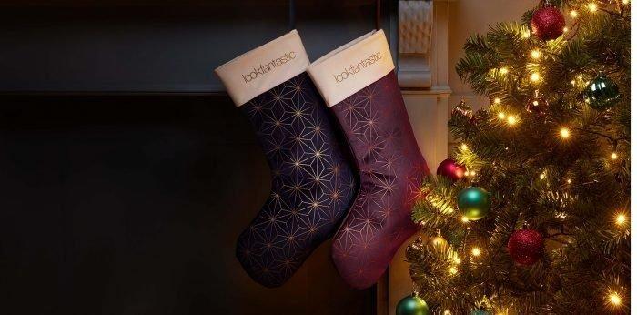 Les Chaussettes de Noël de lookfantastic