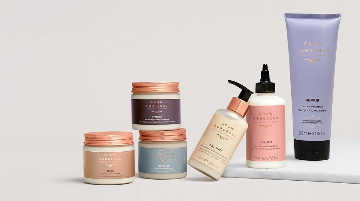 Grow Gorgeous : soins capillaires intelligents