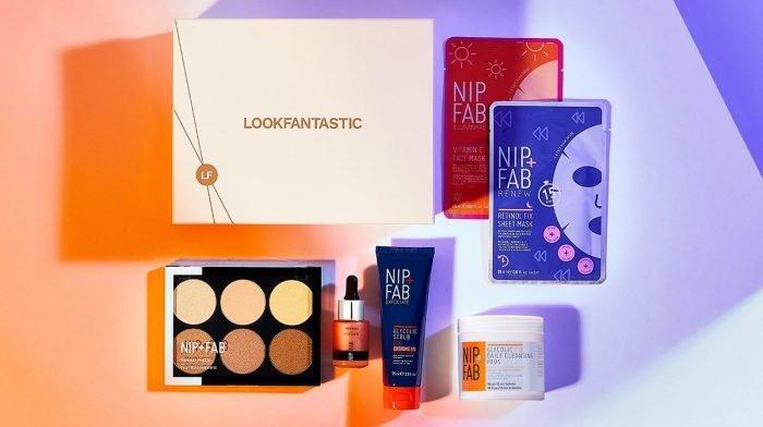 Ce qui se trouve dans la Beauty Box : Kit Nip+Fab