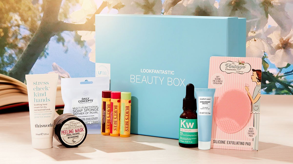 Dans la Beauty Box : Edition 'Ethereal' de Mai