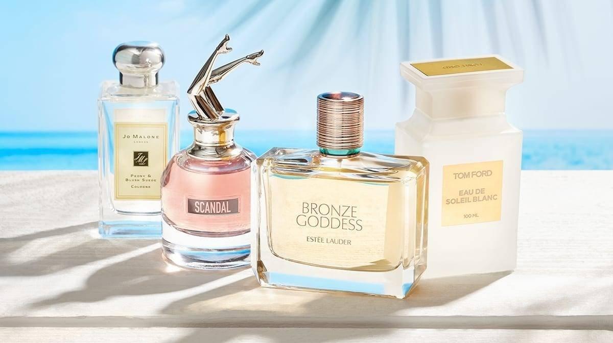 Les meilleurs parfums d'été
