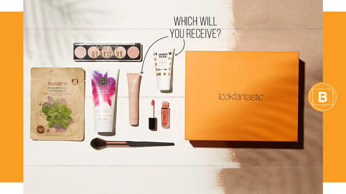 Discover the lookfantastic August Beauty Box