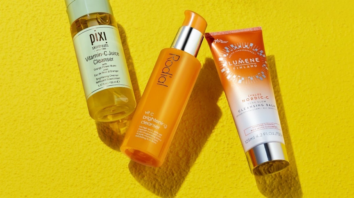 7 of the best Vitamin C cleansers for glowing skin