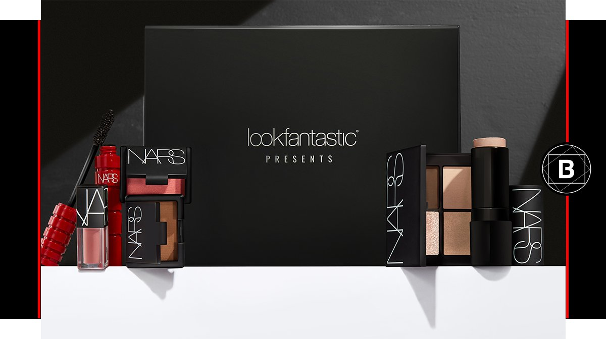 Discover the lookfantastic x NARS Limited Edition Beauty Box