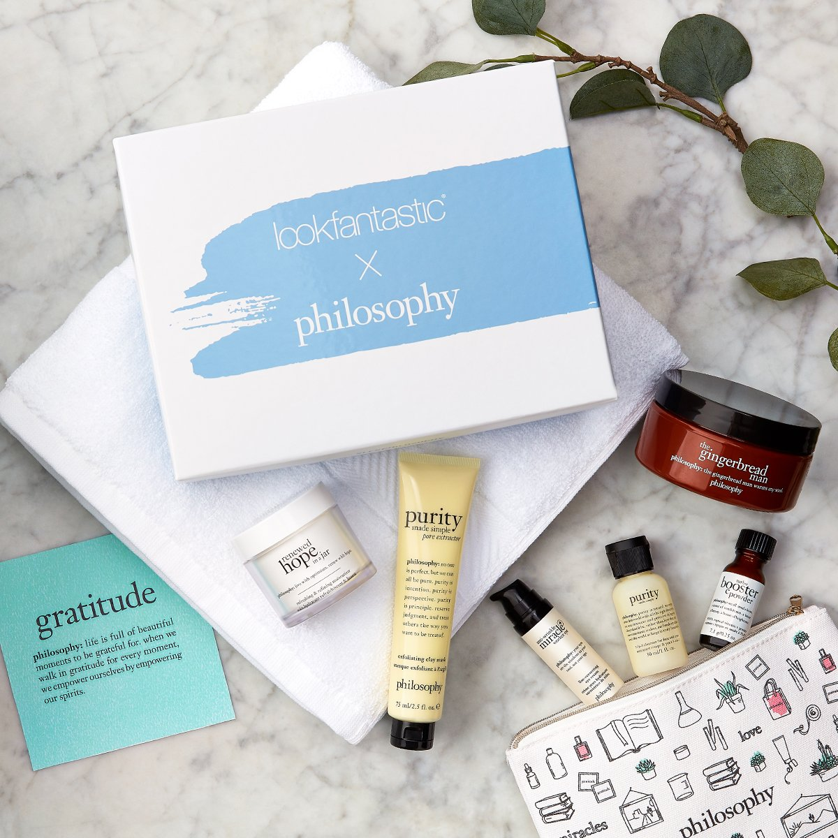 Introducing the lookfantastic x philosophy Limited Edition Beauty Box