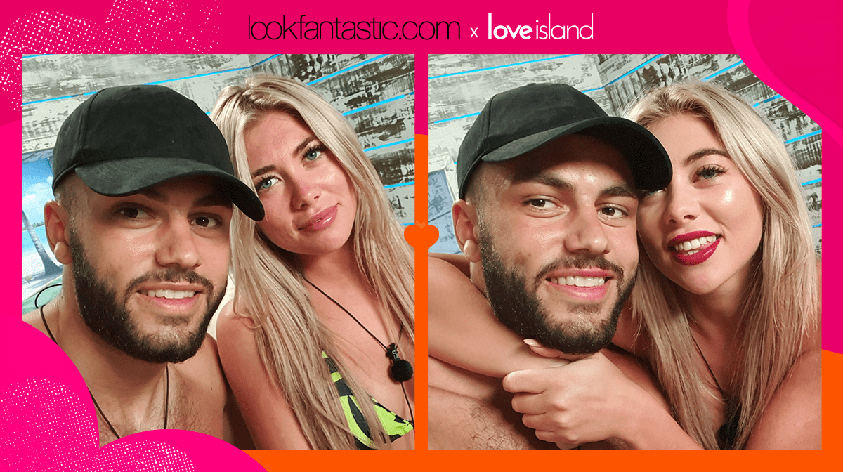 Get the Love Island look: Couple's Makeup Challenge Tutorial with Finley and Paige