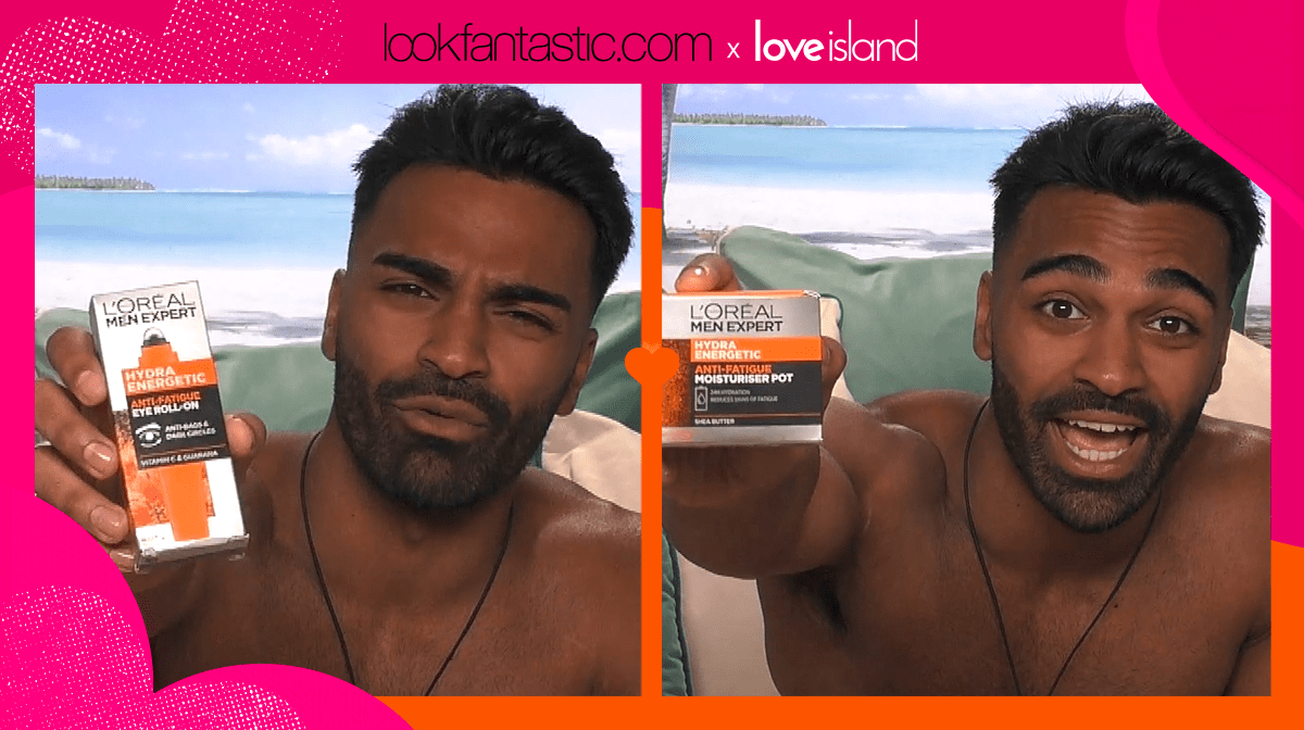 Get the Love Island look: male grooming with Nas