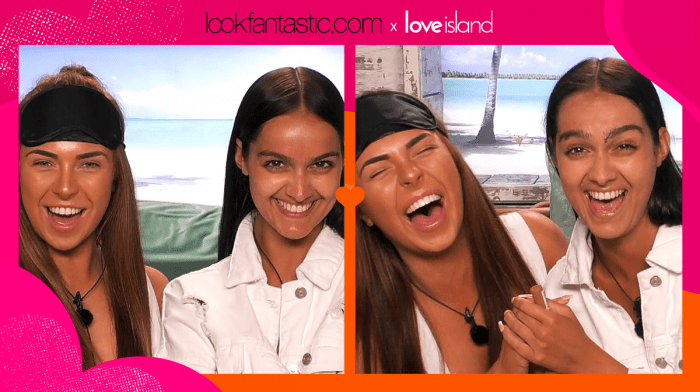 Get the Love Island look: Blindfold Makeup Challenge with Siannise and Demi
