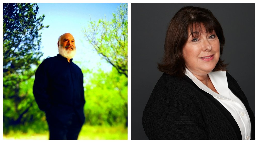 Dr. Andrew Weil and Lizz Starr for Origins