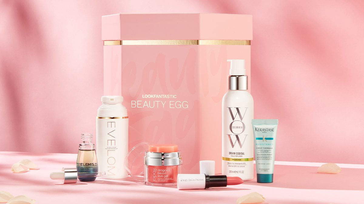 IT'S BACK…Discover the LOOKFANTASTIC Beauty Egg