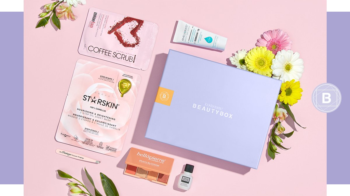 Discover our April 'Spring' Edition Beauty Box