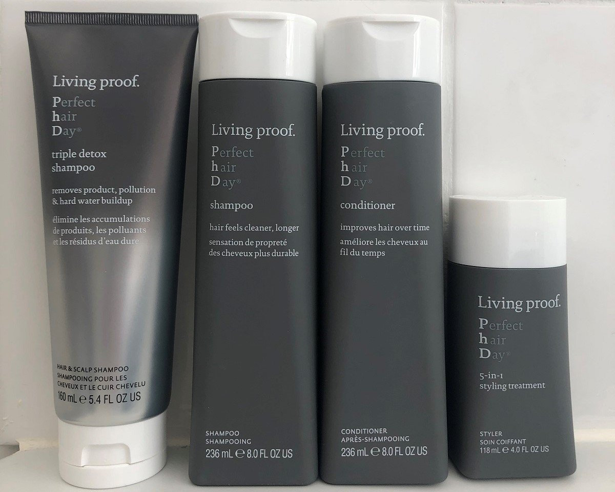 Easy home haircare routine with Living Proof