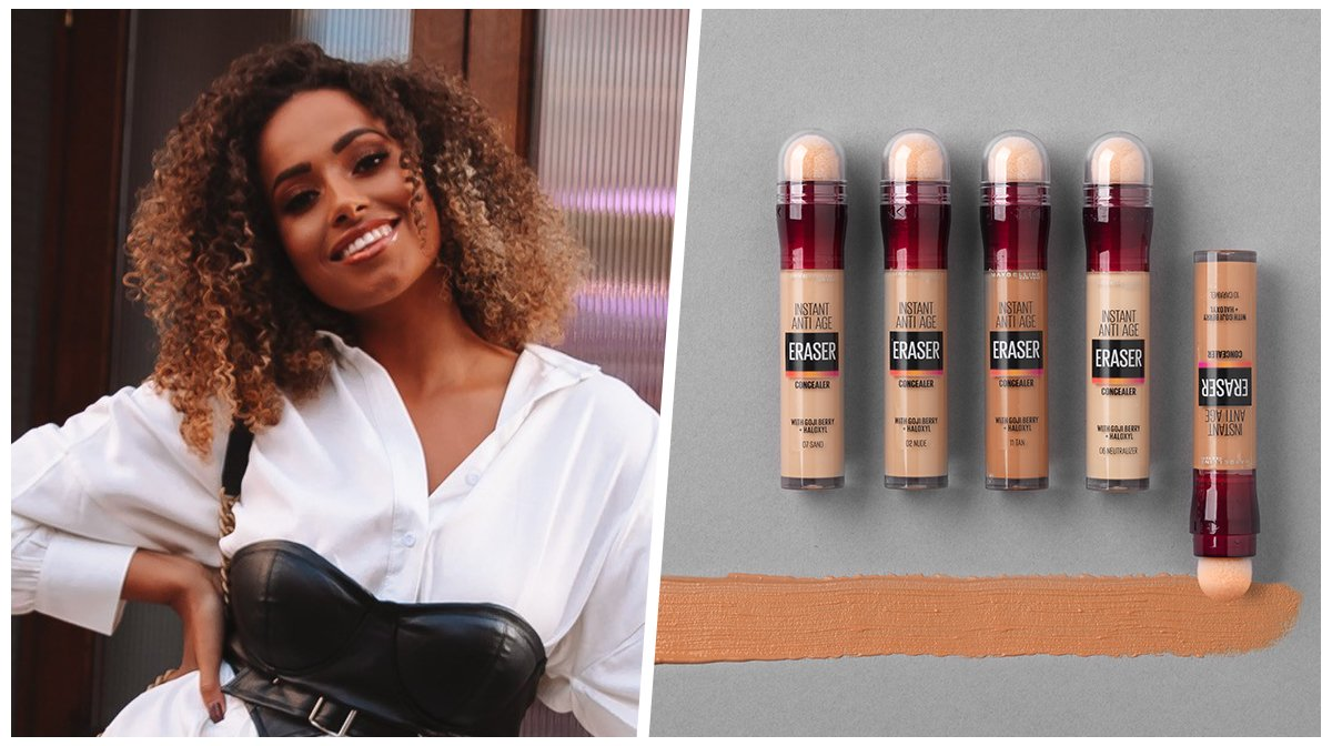 Easy everyday makeup look with Amber Gill and Maybelline