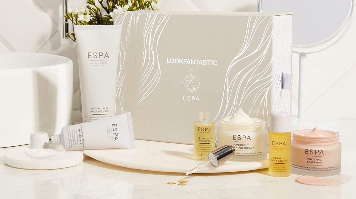 Introducing the LOOKFANTASTIC X ESPA Limited Edition Beauty Box