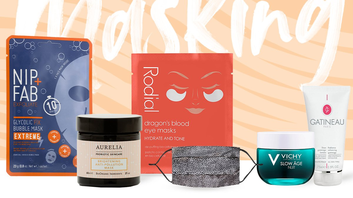 How to choose the right face mask for an at-home facial