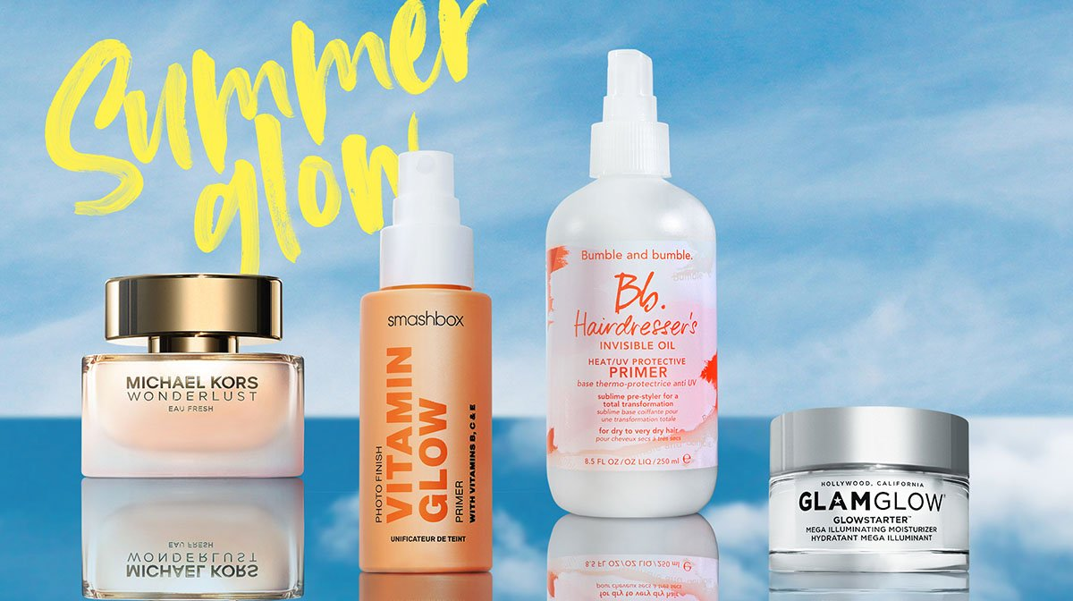 Beauty essentials for your summer staycation